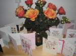 Birthday cards & flowers