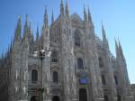 Milan Italy fashion clothes travel holiday Gucci Versace coffee D&G
